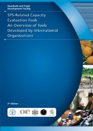 SPS-Related Capacity Evaluation Tools - Standards and Trade ...