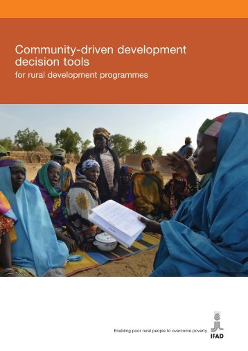 Community-driven development decision tools - International Fund ...