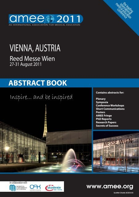 AMEE 2011 Abstract Book pdf