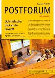 Juli / august 2012 - Deutsche Post DHL