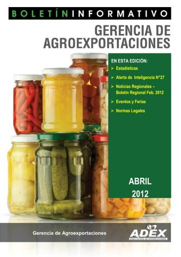 Edición Abril 2012 - Adex Data Trade