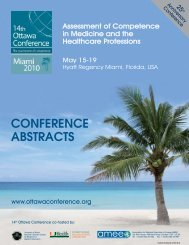 CONFERENCE ABSTRACTS - Ottawa Conferences