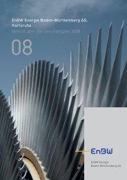 Jahresabschluss EnBW AG 2008