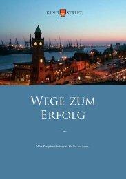Wege zum Erfolg - King Street Industries -   Germany   Home