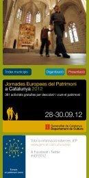 Programa activitats jep 2012