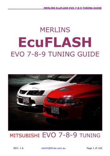 merlins ralliart evolution x tuning guide thefrost net rh yumpu com merlin evo x tuning guide