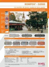 2006-06-23 T-Infoblatt D2000 F - Romex