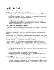 Inside NetBooting - Michael