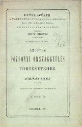 Az 1637/8-ki pozsonyi országgyűlés - Magyar Evangélikus Digitális ...