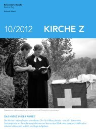 Kirche Z - Oktober 2012 - Reformierte Kirche Zug