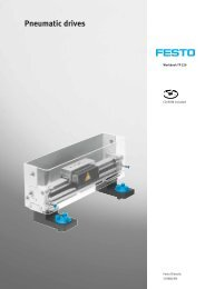 Pneumatic drives - Festo Didactic