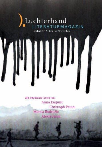 Literaturmagazin Herbst 2012 (pdf, 0.9 MB)