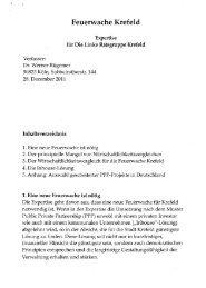Feuerwache Krefeld - Krefelder-Buergerforum.de