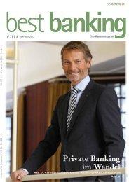 Private Banking im Wandel - Raiffeisenbank Eberndorf
