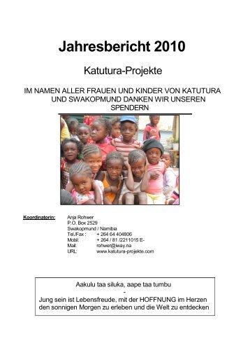 Katutura-Jahresberichtes 2010