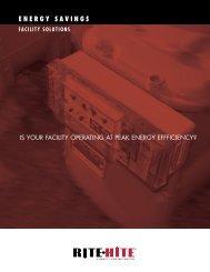 6-page Energy Savings Brochure - Rite-Hite