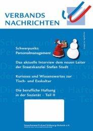 Ausgabe 4/2012 - Steuerberaterverband Schleswig-Holstein e.V.