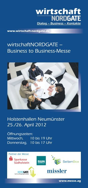 wirtschaftNORDGATE – Business to Business-Messe