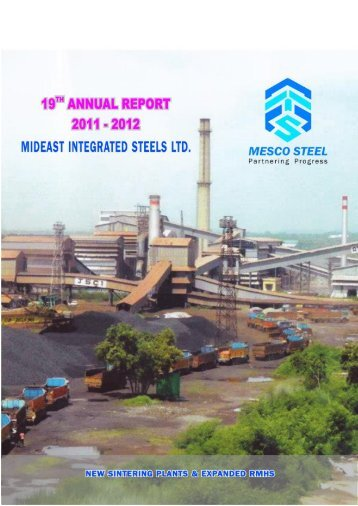 Annual Report 2011-12 - Mideast Integrated Steel