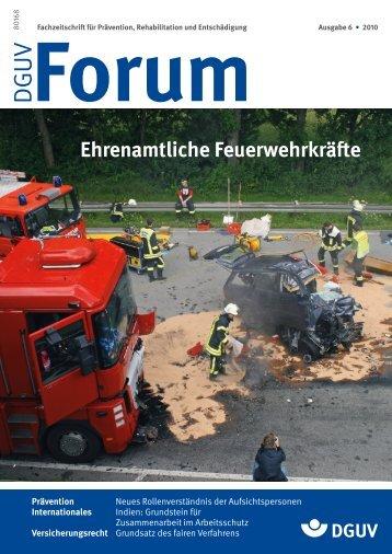 Ausgabe 6/10 - DGUV Forum