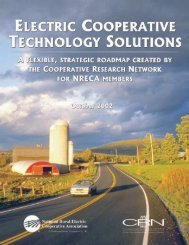Electric Cooperative Technology Solutions: A ... - Climate VISION