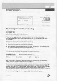 Ei rser I 1. Juni :lj2 Anberaumung einer mündlichen Verhandlung