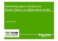 Delivering expert solutions for Smart Cities in a - Schneider Electric