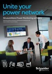 StruxureWare Power Monitoring software - Schneider Electric