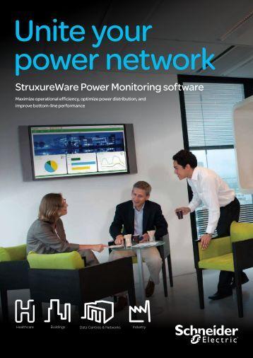 Power Monitoring Software : Struxureware for water schneider electric