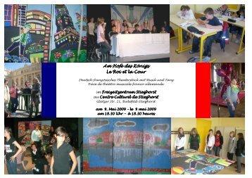 Le Roi et la Cour_2 - Gesamtschule Stieghorst