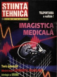 Stiinta si Tehnica - Psihologia online