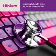 Community Health Index - Lithium