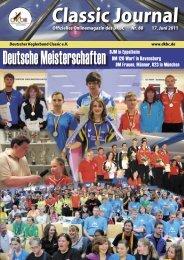PDF: Classic-Journal 88-11 - Deutscher Kegler