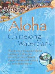 World Waterpar1:Magazine® DECEMBER 2007 - White Water West