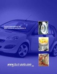 Ficosa International SA 2005 company profile ... - Just-Auto.com