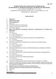 Richtlinie Fachkunde und Kenntnisse im Strahlenschutz bei dem ...
