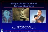 Kardiale Diagnostik - Institut für Diagnostische und Interventionelle ...