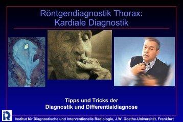 Kardiale Diagnostik - Institut für Diagnostische und Interventionelle ...
