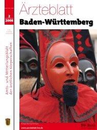 Ärzteblatt Baden-Württemberg 2-2008 - Landesärztekammer Baden ...