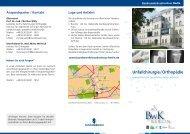 Flyer Endoprothetik ( PDF , 1,4 MB) - Bundeswehrkrankenhaus Berlin
