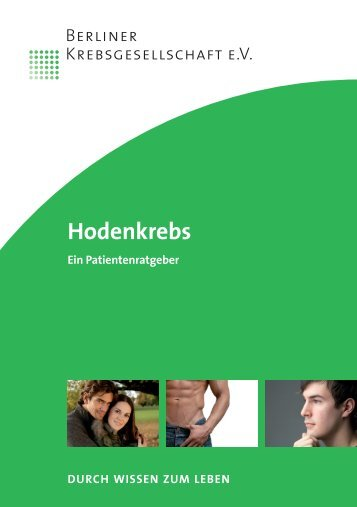 Heft Hodenkrebs_pp_05.10 - Berliner Krebsgesellschaft
