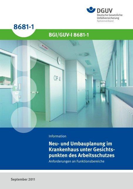 Neu- und Umbauplanung im Krankenhaus unter Gesichtspunkten des