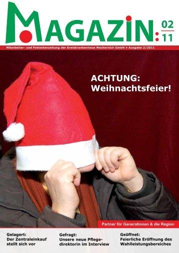 agazin intern - Kreiskrankenhaus Mechernich
