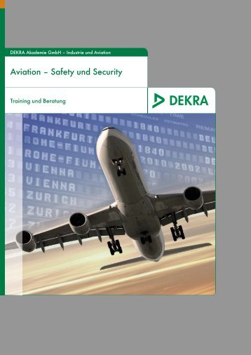 Aviation – Safety und Security