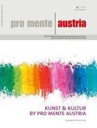 Kunst & Kultur by pro mente austria - pro mente Burgenland