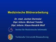 Medizinische Bildverarbeitung - Peter L. Reichertz Institut für ...