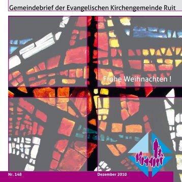 Nr. 148 - Evangelische Kirchengemeinde Ruit