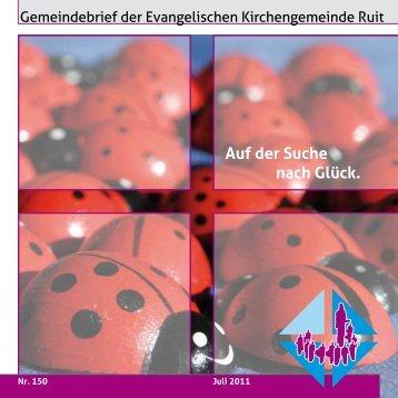 Nr. 150 - Evangelische Kirchengemeinde Ruit