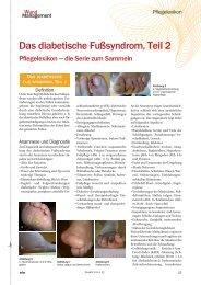 Das diabetische Fußsyndrom, Teil 2 - Werner Sellmer