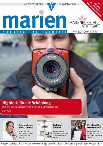 Hightech für die Schöpfung – - Marienhospital Stuttgart